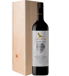 Platinum Label Medlands Vineyard Barossa Valley Shiraz 2014 Gift