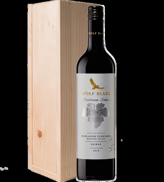 Platinum Label Medlands Vineyard Barossa Valley Shiraz 2014 Gift