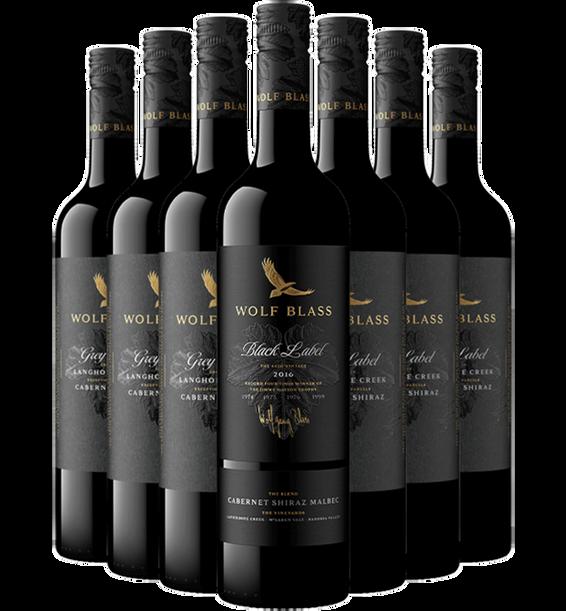 Grey Label Cabernet Shiraz 2019 and Black Label Cabernet Shiraz Bundle