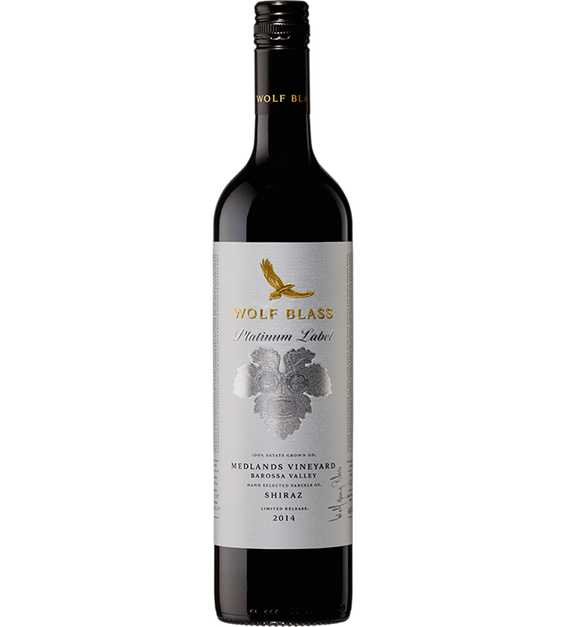 Platinum Label Medlands Vineyard Barossa Valley Shiraz 2014